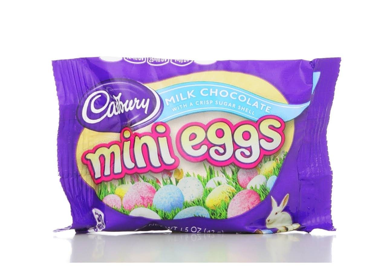 Cadbury Mini Eggs Milk Chocolate - 42g