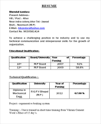 Diploma Fresher Resume Format Download1