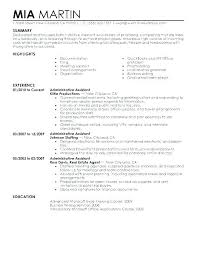 Sample Resume Personal Statement Career Mission