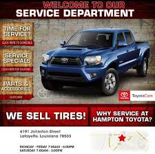 Hampton Toyota | New Toyota Dealership In Lafayette, LA 70503