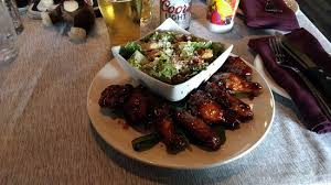 boreal cuisine the bbq wings and caesar salad special picture of the boreal