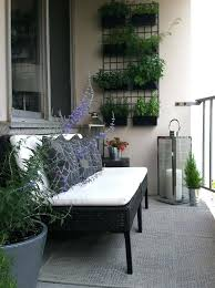 Vertical Herb Garden On A Small Balcony Decoration Ideas India Interior For Balconies Big