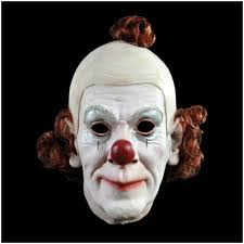 Halloween Resurrection Maske by Circus Clown Mask Mad About Horror