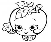 Cute Shopkins For Girls Coloring Pages