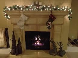 Grandin Road White Christmas Tree by Christmas Fireplace Garland Ideas Inspirationseek Com Ideas 01