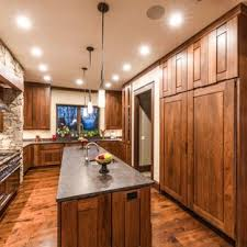 75 Popular Rustic Dark Wood Floor Kitchen Design Ideas