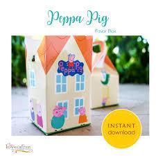 Peppa Pig With Stars Pumpkin Stencil by Peppa Pig Favor Box