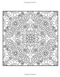 Happy Coloring Flower Patterns