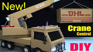 How To Make A Crane Truck At Home - Car Remote Control Using ...
