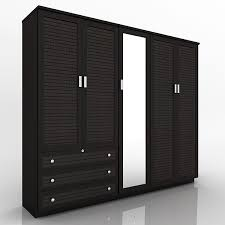 5 DOOR WOODEN DESIGNER WARDROBE