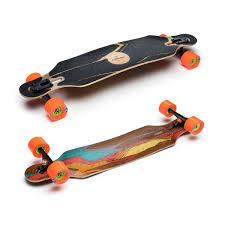 100 Drop Through Longboard Trucks Loaded Icarus Skateboard