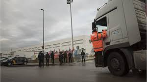 100 Trucking Strike Truckers To In April YouTube