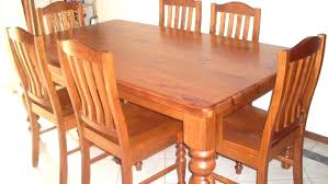 8 Second Hand Dining Room Set Used Kitchen Tables Near Me Sets