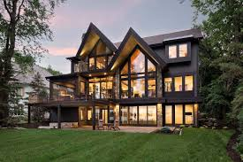 100 Contemporary Houses Rustic Contemporary Lake House With Privileged Views Of Lake Minnetonka
