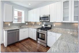 gray kitchen backsplash tile gray glass subway tile kitchen tiles
