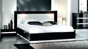 chambre avec lit noir chambre avec meuble blanc chambre avec lit noir lit blanc et noir