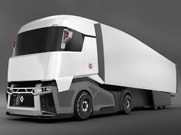 100 Concept Semi Trucks 3d Model Of Renault Concept Truck