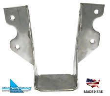 2 x 6 decorative joist hangers joist hangers fasteners connectors ebay