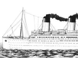 Titanic Colouring Pages Page 3