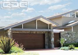 Luxury Garage Doors with Driveway Modern Potted Plants