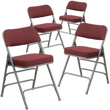 Shop Padded Folding Chair - Free Shipping Today - Overstock - 27066714 2418usb A Shape Heavyduty Padded Folding Chair 2019 4 Fabric Black Soft Seat Compact Steel Amazoncom Flash Fniture Hercules Series White Wood Sudden Comfort Deluxe Buff Frame Vinyl Chairs Km Party Rental And Decor 4pack Triple Brace 300 Lb Capacity 3450fsnf Moreton Hire Samsonite 3000 Fan Back With Bonded