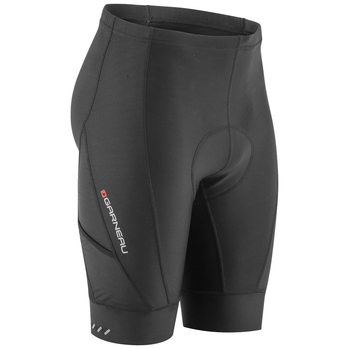 Louis Garneau Men's Optimum Bike Shorts, Black, XL