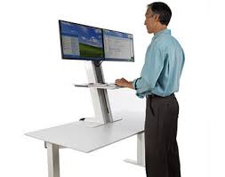 Humanscale Standing Desk Converter by 18 Dual Monitor Adjustable Standing Desk Dual Monitor Arm