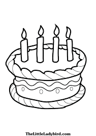 coloring page birthday cake birthday cake coloring pages free unique pictures of cakes to color stylist coloring page birthday