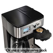 FlexBrewR 2 Way Coffee Maker With 12 Cup Carafe Pod Brewing