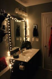 Vanity Table With Lights Around Mirror by Bathroom Rennovation Black And White Christmas Lights Womens