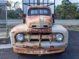 Rusty Old 1951 Ford F4 1 Ton Truck | Image © Paul Leader - A… | Flickr