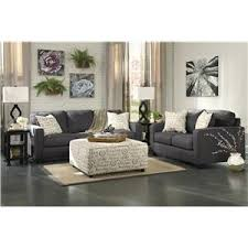 Levon Charcoal Sofa And Loveseat by Signature Design By Ashley Alenya Charcoal 2 Piece Sectional