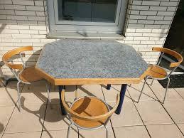 balkon esszimmermöbel aus echt holz tisch mit 3 stühle