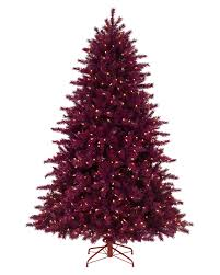 Pencil 6ft Pre Lit Christmas Tree by Cranberry Crush Christmas Tree Treetopia