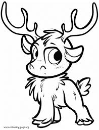 How About Coloring This Beautiful Picture Of Sven As A Cub Just