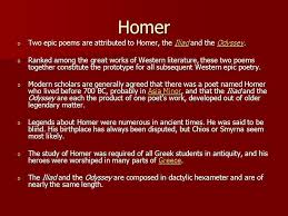 the odyssey in modern the odyssey by homer ppt