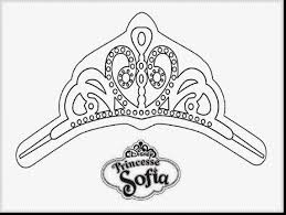 Marvelous Princess Sofia The First Coloring Pages With And
