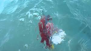 lego ship sinking in water youtube