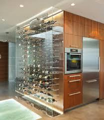 modern lighted kitchen cabinets