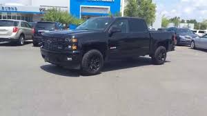 2015 Chevrolet Silverado Crew Cab Midnight Edition LTZ, Burns ...