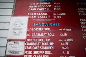 100 Cousins Maine Lobster Truck Menu How Much Would You Shell Out For A Lobster Roll Portland
