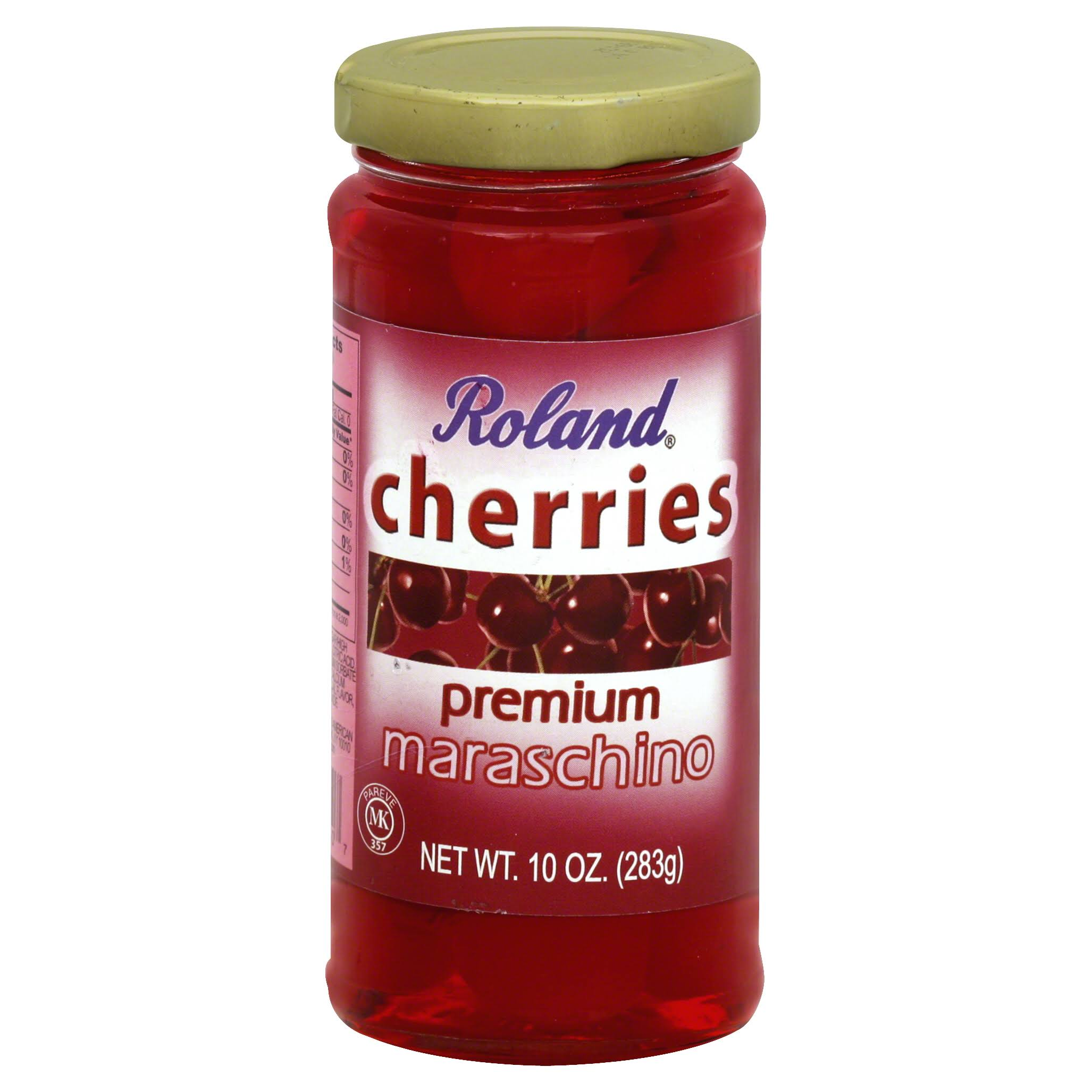 Roland Cherries, Maraschino - 10 oz