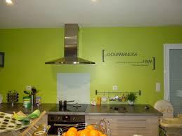 idee mur cuisine idée déco cuisine avec les stickers idzif réalisez une décoration