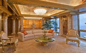 100 World Tower Penthouse Inside Donald Trumps 100million In New York City