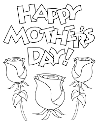 mothers day clipart black white OurClipart