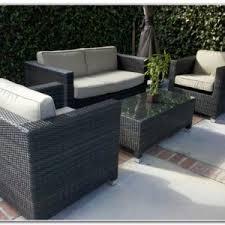 Walmart Wicker Patio Furniture Cushions by Black Wicker Patio Furniture Walmart Patios Home Design Ideas