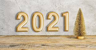 Items Where Year Is 2021 New Year 2021 Text Balloon Foil New Year Background