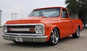1970 Chevrolet C-10 Custom Shortbed Pickup Truck