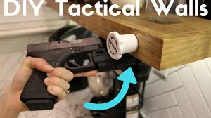 Diy Hidden Gun Cabinet Plans by Diy Hidden Compartment Tactical Walls Using Rev A Lock System