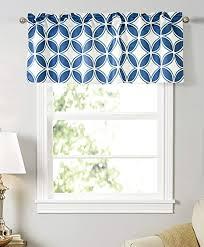 dreamskull kurzstores gardinen vorhang scheibengardine blickdicht kleinfenster bistrogardine schiebevorhang kurz küche wohnzimmer modern geometrische